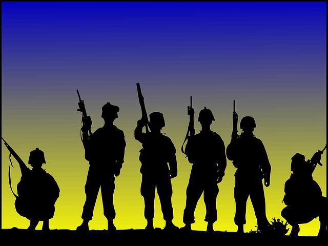 wojna - strzelanie